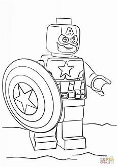 Malvorlagen Kinder Superhelden Lego Captain America Ausmalbilder Lego Superhelden