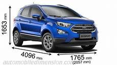 Ford Ecosport 2018 Dimensions Boot Space And Interior