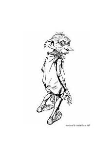 ausmalbilder harry potter dobby coloring pages for