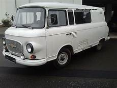 Barkas B1000 1 1990 Box Type Delivery Photo And Specs