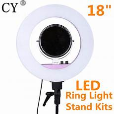 Inch Dimmable Ring Light Tripod inno 18 inch 5500k 48w led ring light photography dimmable