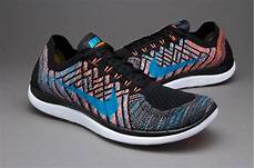 nike free 4 0 flyknit mens shoes black hyper orange