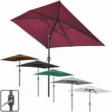 Sonnenschirm 2 X 3 M - 2x3m rectangle garden parasol umbrella patio sun shade