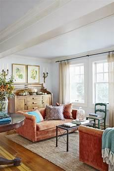 tis autumn living room fall decor ideas