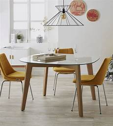 table a manger scandinave ovale mikea galerie