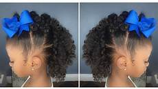 curly fro hawk tutorial kids natural hairstyle iamawog