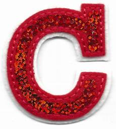 applique iron on letters sequin 2 quot letter quot c quot iron on embroidered