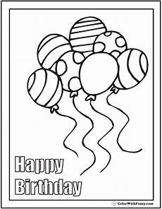 28 birthday cake coloring pages customizable ad free pdf