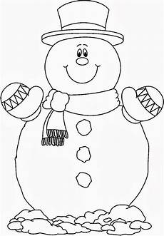 snowman coloring pages to and print for free