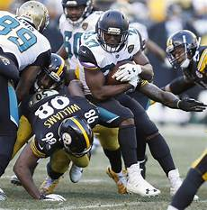 steelers jaguars playoffs jaguars earn trip to afc title with 45 42 win