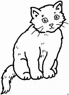 Malvorlage Sitzende Katze Suesse Sitzende Katze Ausmalbild Malvorlage Tiere