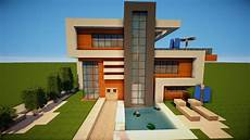 Gro 223 Es Sch 246 Nes Modernes Minecraft Haus Bauen Tutorial