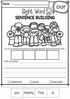 building sight words worksheets 21020 sight word sentence building primer sentence building sight word sentences sight words