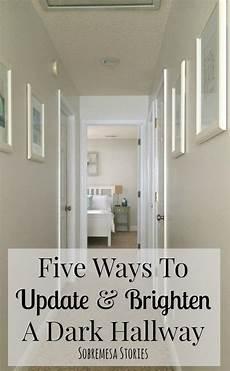 five ways to update and brighten a dark hallway blogs featuring d lawless dark hallway