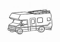 Malvorlagen Auto Mit Wohnwagen M 229 Larbild Husbil Bild 9660