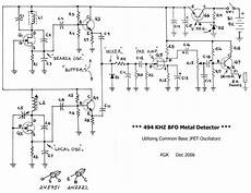 bfo metal detector beat frequency oscillator electronics in 2019 metal detector gold