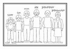 family coloring worksheets for kindergarten 12915 esl families colouring sheets sb10268 sparklebox