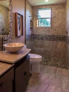 bathroom ideas earth earth toned bathroom with contemporary flair hgtv
