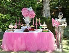 Decoration Anniversaire Fille Anniversaire Theme Princesse Disney Decoration De Buffet