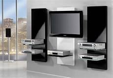 tv wandregal tv wandregal mit flatscreenhalterung und fachboden in