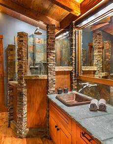 Bad Rustikal Gestalten - 16 fantastic rustic bathroom designs that will take your
