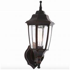 outdoor exterior porch light lantern bronze wall lighting fixture dusk to dawn ebay