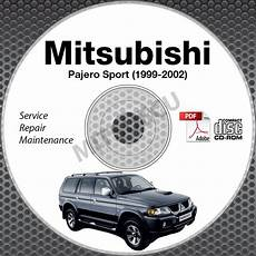 book repair manual 2002 mitsubishi pajero user handbook 1999 2002 mitsubishi pajero sport service manual cd rom