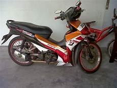 Modifikasi Absolute Revo 110cc by Modifikasi Absolute Revo 110cc Abs Revo Repsol 93 Mac