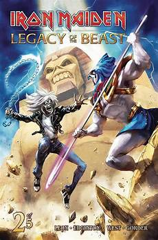 of the beast 2 buy comics iron maiden legacy of the beast 2 of 5 cvr