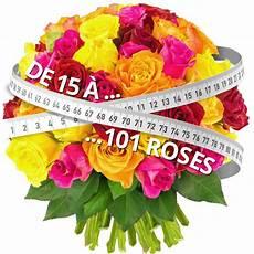 Bouquet De Roses Quot Bouquet De 70 Roses Multicolores