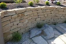 Garten Terrasse Au 223 Engestaltung Mauer Trockenmauer