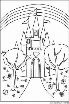 Malvorlagen Prinzessin Schloss Gratis Ausmalbilder Schloss Ausmalbilder
