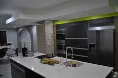 Hotte D Ilot Central Ilot Central Cuisine Hotte Plafond Hotte Roblin Vert