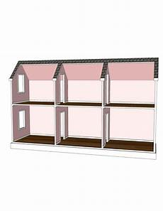 ag doll house plans doll house plans for american girl or 18 inch dolls 6 room