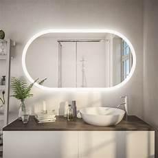 spiegel beleuchtung spiegel mit beleuchtung abgerundet kaufen f602l4k