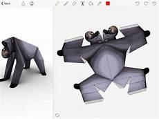 Foldify Zoo Create Print And Fold Paper Animals