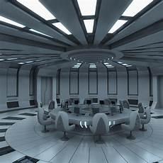 futuristic interior 3d futuristic interior model