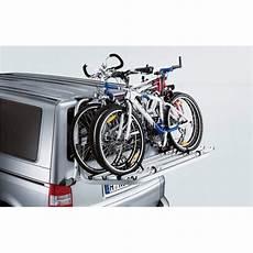 fahrradträger für heckklappe fahrradtr 228 ger f 252 r die heckklappe vw t5 699 00