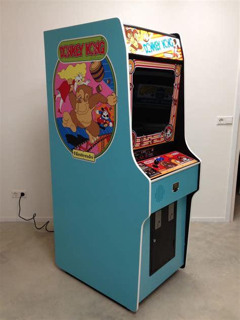 Donkey Kong Arcade Cabinet Dimensions