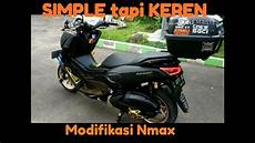 Modifikasi Lu Nmax by Modifikasi Nmax Black Gold Simple Tapi Keren