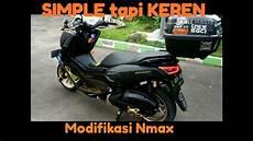 Lu Belakang Nmax Modif by Modifikasi Nmax Black Gold Simple Tapi Keren