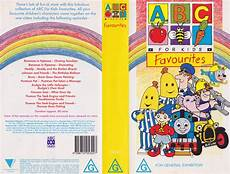 abc for favourites pal vhs abc for kids favourites video pal vhs a rare find ebay