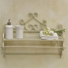 accessori bagno ferro battuto porta telo ferro battuto bianco etnico outlet mobili