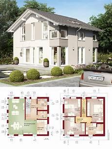 Satteldach Haus Architektur Modern Grundriss Offen 4