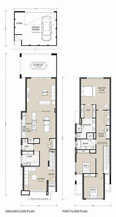two storey narrow lot house plans image result for old town house extension floor plan