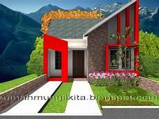Desain Rumah Tipe 36 Tanah 72 1lantai 2 Kamar Tidur 1