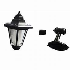 solar powered led wall mounted light sconce lantern l garden light hexagonal l outdoor