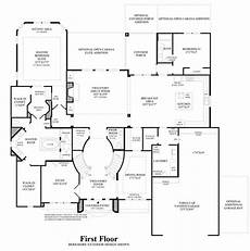 toll brothers house plans toll brothers merida 1st floor courtyard house plans