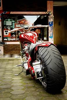 Modifikasi Harley by Modif Motor Harley Davidson Pro Modification