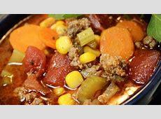 best hamburger soup slow cooker